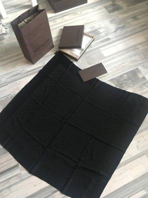 Louis Vuitton - schwarzes Seiden Tuch - Original 400€ mit Rechnung❤️Rabatt