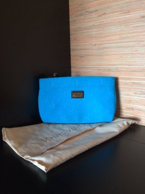 Louis Vuitton SCUBA POCHETTE IN BLAU