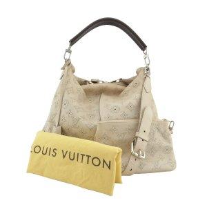 Louis Vuitton Sac seau beige clair cuir