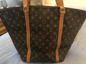 Louis Vuitton Carry Bag bronze-colored cotton