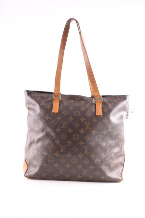 Louis Vuitton Shopper braun-hellorange Allover-Druck Business-Look