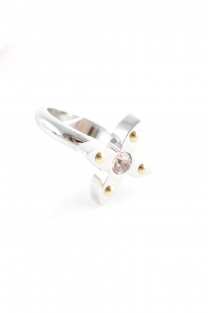 Louis Vuitton Silberring mehrfarbig Elegant