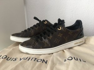 Louis Vuitton Sneakers bruin-zwart