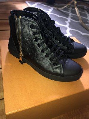 Louis Vuitton sneaker Boots Monogramm Leder high Schuhe neu 36 37