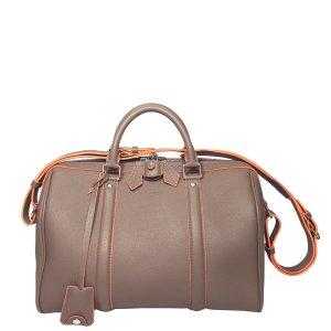 Louis Vuitton Sofia Coppola SC PM Tasche Handtasche Kalbsleder Taupe Orange