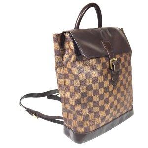 Louis Vuitton Soho Rucksack Damier Ebene Canvas Tasche Handtasche