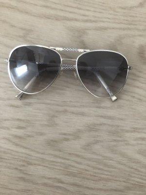 Louis Vuitton Gafas de piloto gris claro-blanco