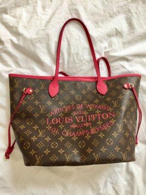 Louis Vuitton Borsa con manico rosso lampone-bronzo