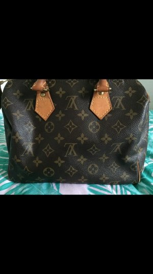 Louis Vuitton Handbag bronze-colored leather