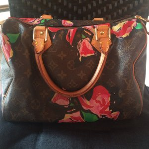 Louis Vuitton Speed 30 Monogram Roses