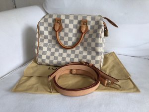 Louis Vuitton Speedy 25 Azur Top Handtasche Crossbody Bag