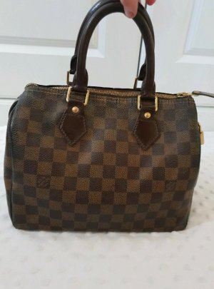 Louis Vuitton Speedy 25 Damier Ebene Canvas