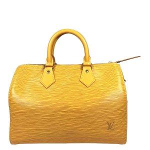 Louis Vuitton Speedy 25 Epi Leder Tassil Gelb Tasche Handtasche