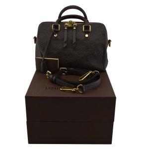Louis Vuitton Borsa da bowling marrone scuro Pelle