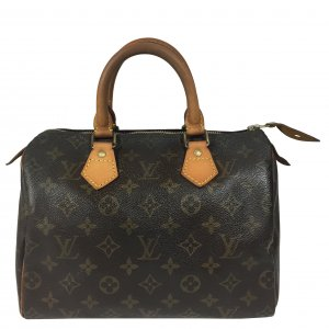 Louis Vuitton Speedy 25 Monogram Canvas Tasche Handtasche Henkeltasche