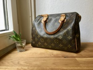 Louis Vuitton Carry Bag brown-dark brown leather