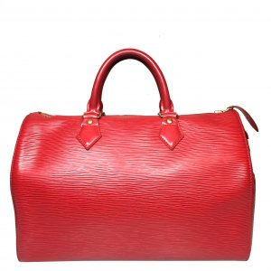 Louis Vuitton Speedy 30 aus Epi Leder in Rouge Rot Tasche Handtasche