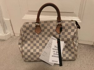 Louis Vuitton Speedy 30 Azur Handtasche Tasche Blogger