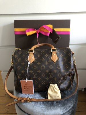 Louis Vuitton Speedy 30 Bandouliere Monogram Top Crossbody Tasche