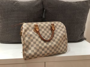 Louis Vuitton Speedy 30 / Damier Azul