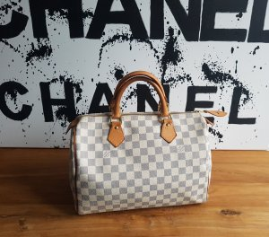 Louis Vuitton Speedy 30 Damier Azur 100% Original