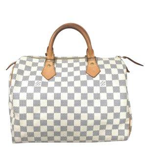 Louis Vuitton Speedy 30 Damier Azur Canvas Tasche Handtasche