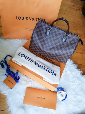 Louis Vuitton Speedy 30 Damier Ebene