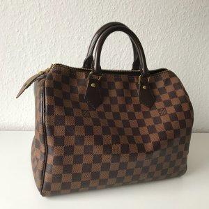 Louis Vuitton Handtas bruin-zwart
