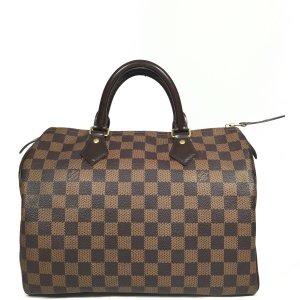 Louis Vuitton Speedy 30 Damier Ebene Canvas Tasche Handtasche