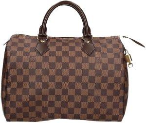 Louis Vuitton Speedy 30 Damier Ebene Canvas Tasche, Handtasche, Henkeltasche