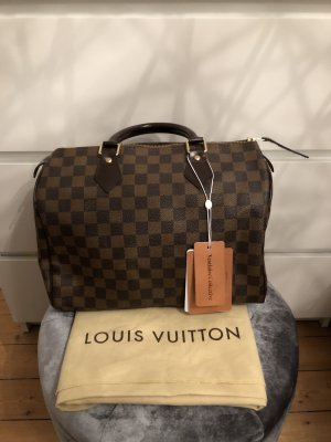 Louis Vuitton Speedy 30 Damier Ebene Handtasche Top