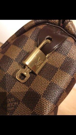 Louis Vuitton Handbag dark brown-camel