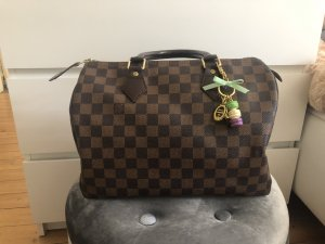 Louis Vuitton Speedy 30 Handtasche Damier Canvas Ebene
