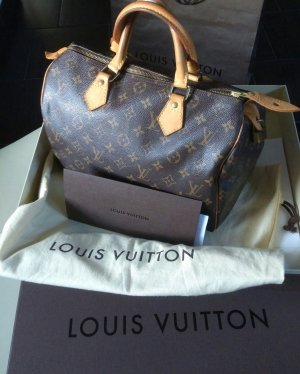 Louis Vuitton Bolso de bolos marrón oscuro-marrón arena