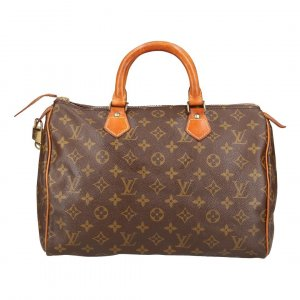 Louis Vuitton Speedy 30 Monogram Canvas Tasche, Handtasche, Henkeltasche