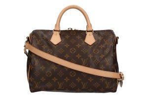 Louis Vuitton Speedy 30 Monogram Canvas Tasche, Handtasche, Henkeltasche mit Schulterriemen