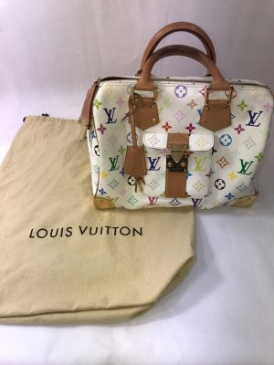 Louis Vuitton Carry Bag white-gold-colored