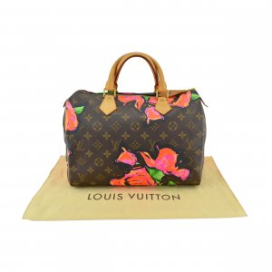 Louis Vuitton Speedy 30 Roses @mylovelyboutique.com