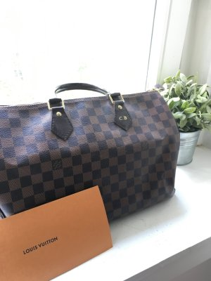 Louis Vuitton Bolso barrel marrón oscuro