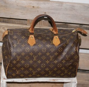 Louis Vuitton Sac à main multicolore cuir