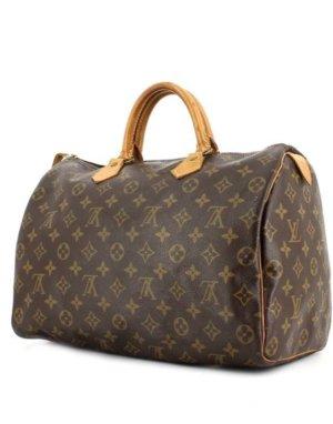 Louis Vuitton Bolsa marrón-marrón grisáceo