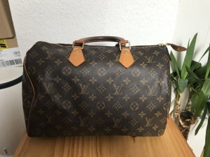 Louis Vuitton Sac à main brun-rose chair cuir