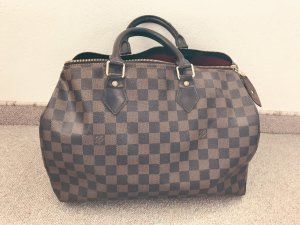 Louis Vuitton Carry Bag bronze-colored-black brown leather