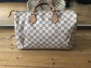 Louis Vuitton Speedy 35 Azur Handtasche Luxus