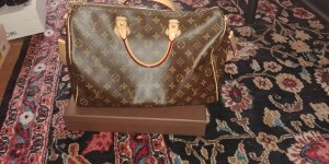 Louis Vuitton Speedy 35 Bandouliere Full Set