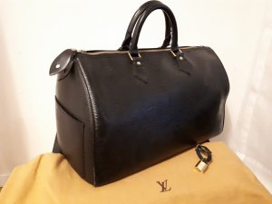 Louis Vuitton Sac à main noir-doré