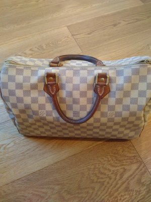 louis vuitton speedy 35 damier azur canvas