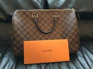 Louis Vuitton Sac à main bronze-brun cuir
