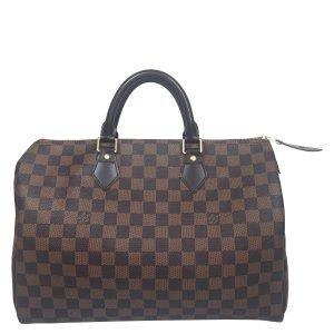 Louis Vuitton Speedy 35 Damier Ebene Canvas Tasche Handtasche