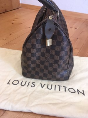 Louis Vuitton Borsetta marrone scuro-marrone